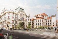 Z Mariánského náměstí se stane pěší zóna: Auta do konce září zmizí, přibude umění