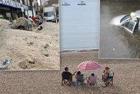 Bouřky hrozí i v závěru prázdnin, sledujte radar. Řítí se také na sousedy