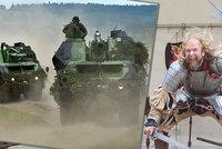 Česká armáda shání 26 kvalitních mečů. Resort obrany nakupuje deštníky či kravaty