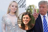 Trump se nefotí s dcerou Tiffany, protože je tlustá. Poznámka stála asistentku místo