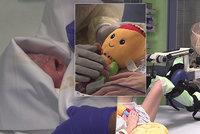 Mrtvá Eva porodila Elišku: Lékaři dítěti předstírali, že máma chodí! Teď dcerku kojí teta