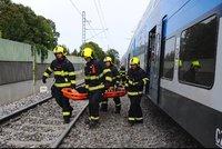 Smrt na mezinárodní trati: Vlak přejel ženu, spoje mezi Hodonínem a Břeclaví stály tři hodiny