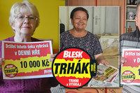 Soutěž Blesk Trhák o tisíce korun je zpět! My už jsme vyhráli, radují se šťastlivci!