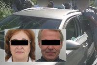 Přemysla (†57) a Marii (†72) zavraždili kvůli milionové vile v luxusní čtvrti! Mordparta má dva muže, auto našli v Maďarsku, těla chybí
