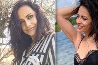 Lucie Bílá porušila zásady: Tělo odhalila v krajkových plavkách!