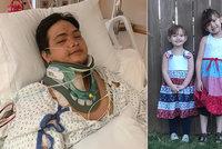 Horor po probuzení z kómatu: Táta zjistil, že jeho tři dcerky zabil opilý řidič