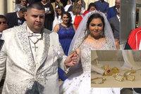 Svatba za 1,2 milionu: Falešná jasnovidka Edita alias David Kotlár si z peněz nešťastníků vystrojil pompézní veselku