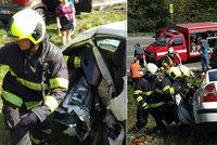 Vážná nehoda na Orlickoústecku: Jeden mrtvý a 8 zraněných! Mezi nimi i děti