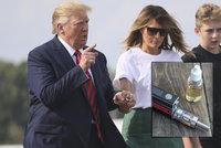 Trump mluvil o synovi, jako by nebyl jeho. Dopřál si Barron (13) e-cigaretu?