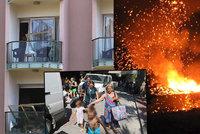 Šokovaní Češi během explozí utíkali z hotelu pod palbou! Dovolenkový ráj se změnil ve válečnou zónu