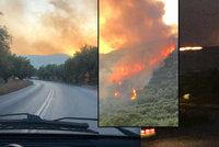 Stovky turistů na útěku: Čeští dovolenkáři popsali masivní požáry na Zakynthosu!