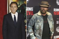 Co je to za bezdomovce? Nicolas Cage byl na červeném koberci k nepoznání!