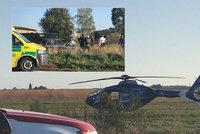 Velmi vážná nehoda na Mladoboleslavsku: Mezi 5 zraněnými je i těžce poraněné dítě