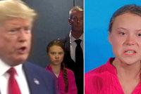 Nadšení, zmatení a vztek. Grimasy odhalily Gretiny pocity, k slzám ji dohnal Trump
