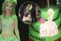 Narozeniny jako Čarodějka: Natálka Grossová dostala zvláštní dort! Co na něm bylo?