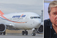"""Pilot o letu Smartwings s jedním motorem: """"Riziko nehrozilo, mohli přistát v terénu"""""""