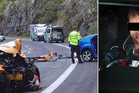 """Řidič """"mustangu smrti"""" popsal vteřiny před nehodou: Za volant už asi nemůžu, litoval"""