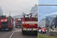 Výbuch plynu u Prachatic zcela zničil bytovku a zabíjel! Podle místních šlo o úmyslnou pomstu!