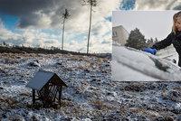 Česko sevřel mráz, teploty spadly k -12,5 °C. Ze silnic je klouzačka