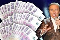 Karel Gott (†80) vydělal přes miliardu, půlku za komunistů. Kolik a za co dostával?