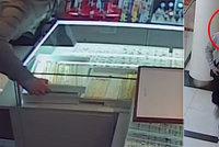 Krádež šperků za téměř čtvrt milionu v Praze. Chmatákovi stačila necelá minuta