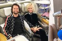 Krajčo není žádný troškař: S manželkou se pochlubil luxusním výletem za sexem!