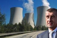 """Babiš chce další jaderné bloky: """"Zaspali jsme dobu."""" Rakušané uvažují o žalobě"""