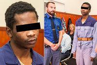 Uprchlík (30) souzený za znásilnění školačky u Terezína: Nic si nepamatuji, prohlásil