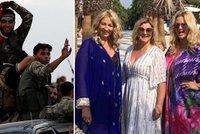 Monika si užívala dámskou jízdu v Turecku. Zrovna když Babiš odsuzoval zemi za útoky