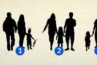 Obrázkový test: Jací jste a jaká byla vaše rodina?