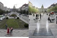 """Velká proměna """"Václaváku"""": Tramvaje pojedou po stranách náměstí. Takhle bude vypadat!"""
