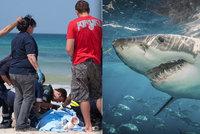 Žralok ukousl matce ňadro a ruce v dovolenkovém ráji: Přímo před očima malého syna (6)!