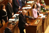 Rozpočet: Zeman ve Sněmovně hledal Babiše, poslanci po hádkách návrh schválili