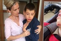 Hororová péče o dítě: Postiženého syna vrátili matce z ústavu s rozbitou bradou a modřinami