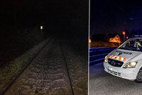 Opilec si ustlal na kolejích v České Lípě: Než ho našli, přejel po nich nákladní vlak