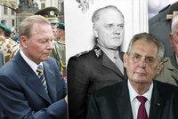 Klaus, Boček, Zilk i Baťa: Zeman udělil hned osm Řádů bílého lva