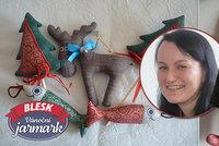Veronika (39) šije svůj dětský sen! Originální dárky přiveze  na Jarmark Blesku
