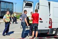 Němci zpřísnili hraniční kontroly. Nechtějí vyhoštěné migranty zpět, hrozí zatýkání