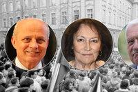 ONLINE: Česko slaví 30 let svobody. Na listopad 1989 zavzpomínají Klaus i Horáček