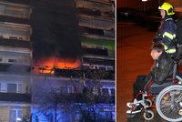 Požár v domě s vozíčkáři, kde zemřela Veronika (†33): Hořet začalo od lednice! Výtah nefungoval, potvrdila kontrola