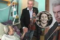 Houslista Svěcený v nemocnici u Zátopkové (97): Drželi se za ruce!