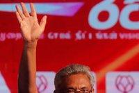 Na Srí Lance zvolili nového prezidenta. Exministr obrany porazil šéfa bytové výstavby