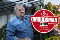 """Zahradník Petr (79) už 3 roky bojuje s černou stavbou: """"Řekli mi, že tu už stejně dlouho nebudu!"""