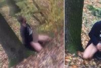 VIDEO: S vystrčeným penisem klečel u stromu a dělal si dobře! Neúnavného úchyla z Ďáblic hledá policie