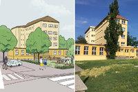 Jak se promění park u školy na Žižkově? Přibudou stromy, lavička ve tvaru srdce a zákaz pro psy