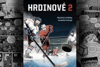 Hrdinové českého hokeje: Komiksový návrat k zásadním okamžikům historie