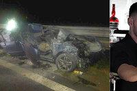 Smrt spolujezdce na D1: V hořícím autě zemřel oblíbený barman Lukáš (†21)