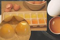 Koupili jste spoustu vajíček v akci? Zkuste je zmrazit! Tady je podrobný návod, jak na to!