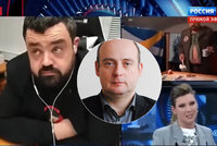 """Vysíláme z Blesku: Pavel Novotný """"bořil"""" ruskou show, utnuli ho. Co na to politolog?"""