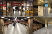 """Nová"" stanice Opatov: Má 5G síť, vznikly tu dva výtahy a vyměnily se stovky kilometrů kabelů"